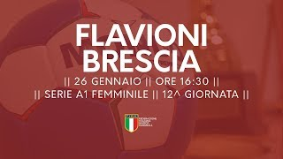 Serie A1F [12^]: Flavioni - Brescia 16-18