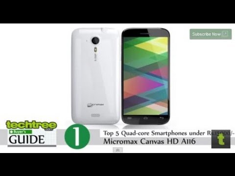 Top 5 Budget Quad-Core Android Phones Under Rs 15,000