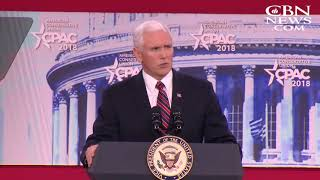 Pence Pays Tribute to Billy Graham At Political Action Conference