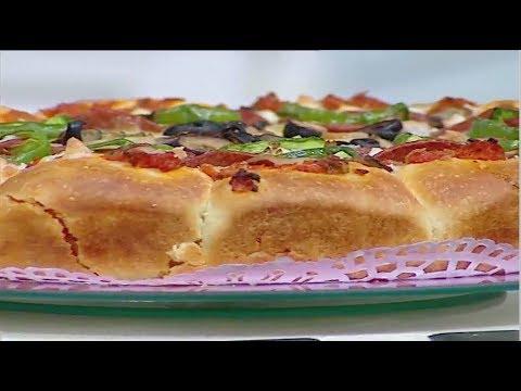 بيتزا فاهيتا الدجاج - بيتزا دجاج باربيكيو الشيف #غفران_كيالي #هيك_نطبخ #فوود