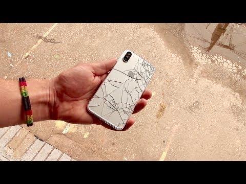 iPhone X Drop Test (prototype)
