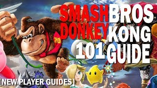 Getting Started with Donkey Kong in Super Smash Bros Ultimate [101 Guide]