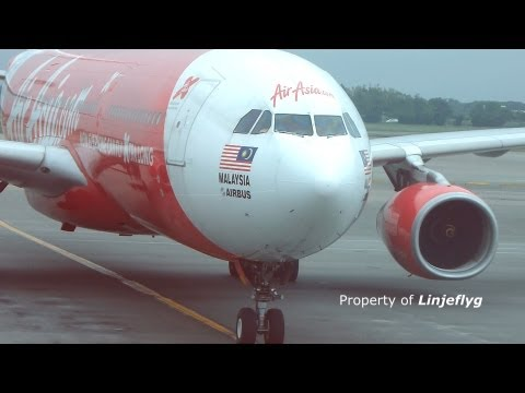 AirAsia A330-300 9M-XXC TPE arrival