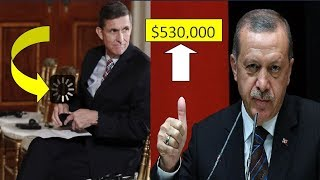 The moment that Erdogan paid $530,000 to Mike Flynn