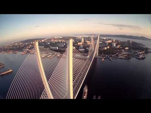 Episode 1: First VLADIVOSTOK FPV quadcopter flight  / Полеты на вертолете над Владивостоком (HD)