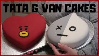 BTS - TATA & VAN  CAKES