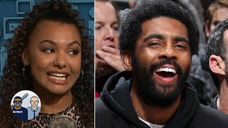 Kyrie Irving isn't faking his shoulder injury – Malika Andrews | Jalen & Jacoby