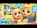 The Wheels On The Bus   Cool Songs For Children | LooLoo Kids