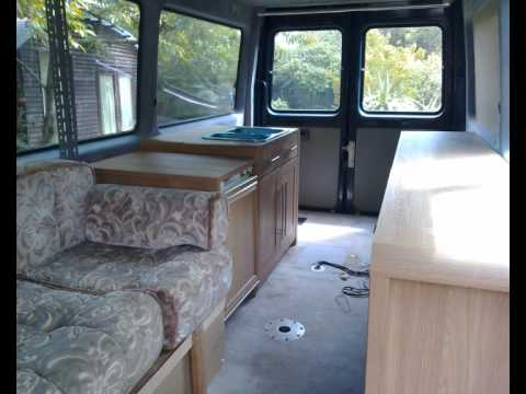 Sprinter camper van conversion