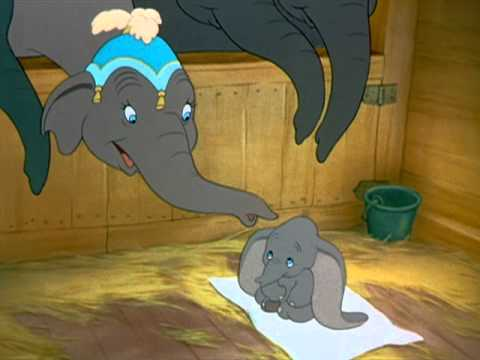 "With high-flying entertainment and messages about friendship, acceptance, courage, and believing in yourself. Meet Dumbo, Mrs. Jumbo's sweet little ""Baby Mine"" who charms all who see him ...."