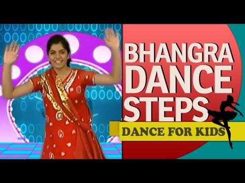 Punjabi Bhangra Dance Steps For Beginners & Kids video