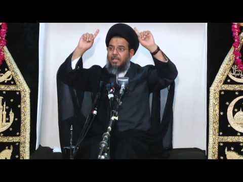 1st Muharram Majalis 1436 - 2014 - Mulk E Khuda Or Imam Hussain A.s -allama Aqeel Ul Gharavi - Urdu video