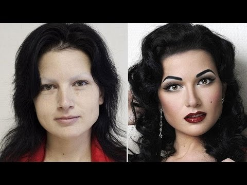 Oricults | 10 Stunning Before And After Make Up Pics - YouTube