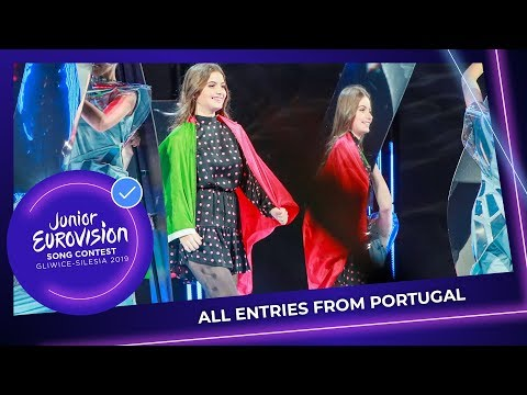 All Junior Eurovision entries from Portugal!