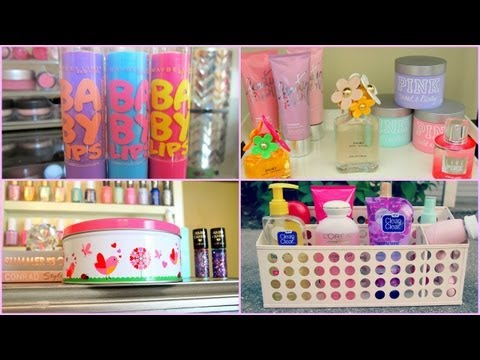 Room Storage & Organization Ideas & DIY Room Decor