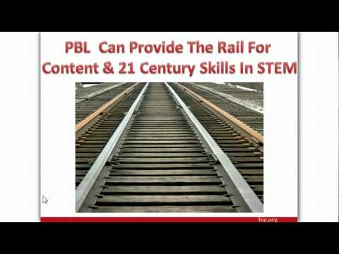 PBL STEM Webinar Part 1 of 3