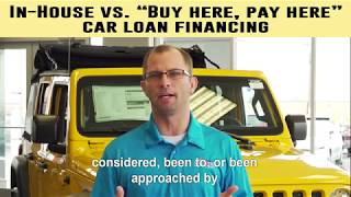 In-House Financing vs Buy Here Pay Here - Kunes Country of Macomb