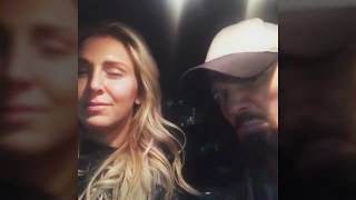 WWE AJ Styles With Charlotte Flair And Becky Lynch Doing Funny Dance In Car. WWE Funny Video