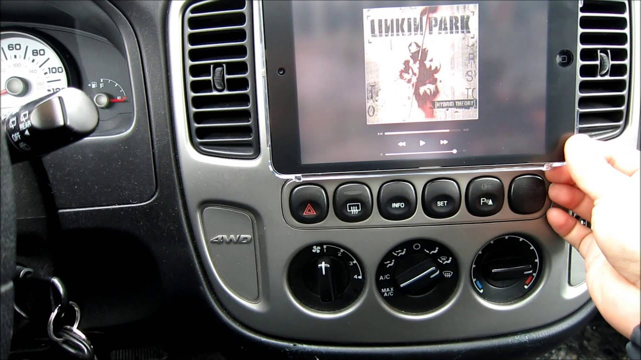 Ipad Mini On 2005 Ford Escape Youtube