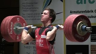 German Weightlifting League 2013 Final Clean&Jerk