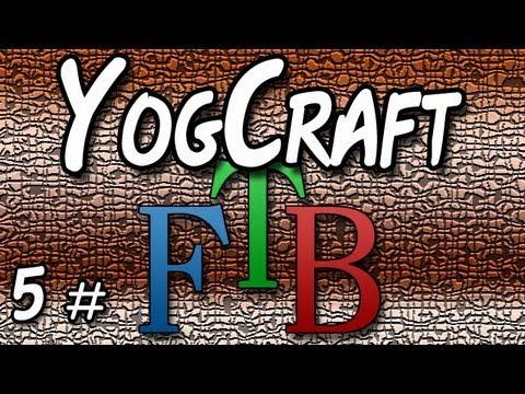 Feedthebeast -  Setting up a Quarry - YogCraft  #5