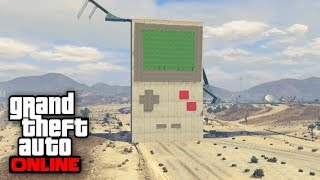 INCREIBLE! GAME BOY GIGANTE!! - CARRERA GTA V ONLINE - GTA 5 ONLINE