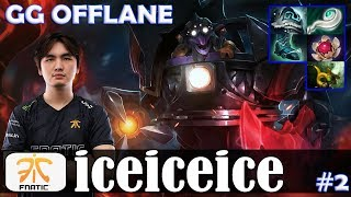 iceiceice - Timbersaw GG OFFLANE | Dota 2 Pro MMR Gameplay #2