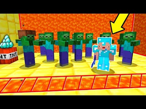 ZOMBIES VS NOOB (Minecraft Troll)
