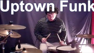 Uptown Funk - Mark Ronson ft. Bruno Mars ∣  @brettbdrums