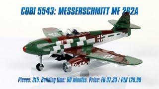 [COBI 5543] Messerschmitt Me 262A review & speed build