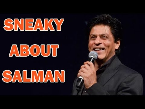 Shahrukh Khan passes a sneaky comment on Salman Khan | Bollywood News
