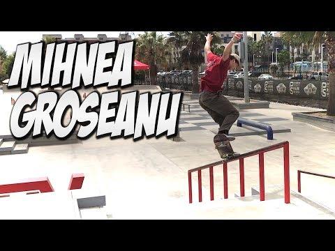 MIHNEA GROSEANU AMAZING SKATEBOARDER !!! - NKA VIDS  -