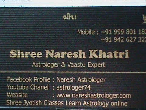 09th Saptember 2012 , Daily Hindi Horoscope from Astrologer Naresh Khatri