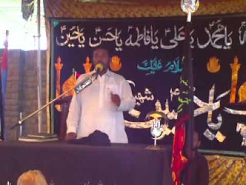 Zakir Ameer Haider Jafri (Jalsa Talagang 17 18 Sep 2011)