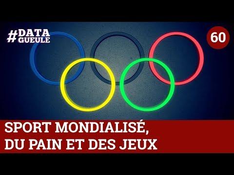 Sport mondialisé : du pain et des jeux #DATAGUEULE 60