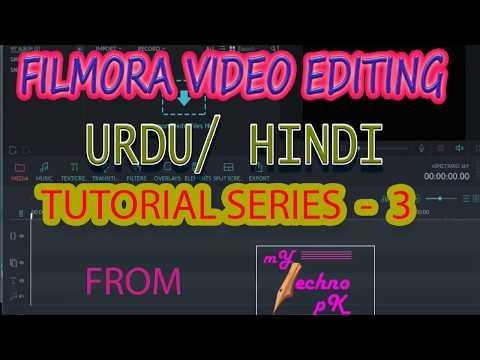Video Editing Series - Filmora Series Part 3