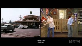 The first and last scenes from classic TV shows