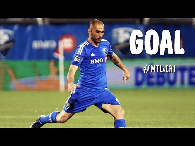 GOAL: Marco DiVaio slots one past Sean Johnson to give Montreal the lead