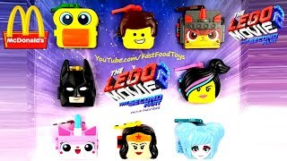 2019 McDONALD'S THE LEGO MOVIE 2 HAPPY MEAL TOYS BATMAN WONDER WOMAN NEXT HOW TO TRAIN YOUR DRAGON 3