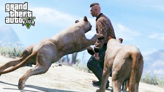 GTA 5 Roleplay - When Animals Attack!