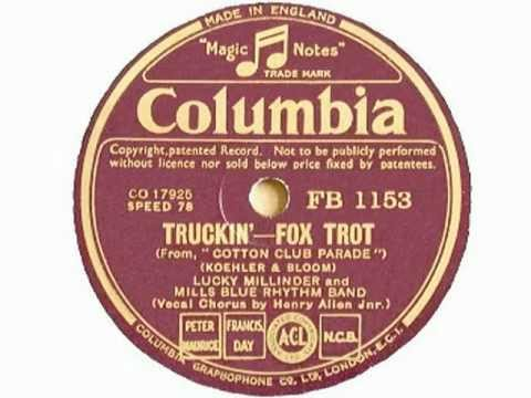 Henry Red Allen 1935 Mills Blue Rhythm Band - Truckin´