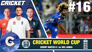 Cricket 19 World Cup Playthrough (England) #16   SRI LANKA