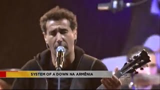 Video System Of A Down faz show
