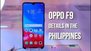 OPPO F9 Philippines Price and Key Features Rundown
