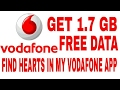 Vodafone Valentines Day Offer - Hunt The Hearts & Get 1.7 GB Data Free MP3