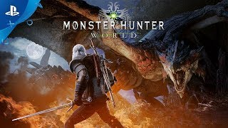 Monster Hunter: World – The Witcher 3: Wild Hunt Collaboration Trailer | PS4