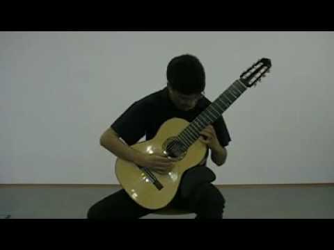 Aşık Veysel - Kara Toprak - Microtonal Guitar - Arr. Ricardo Moyano