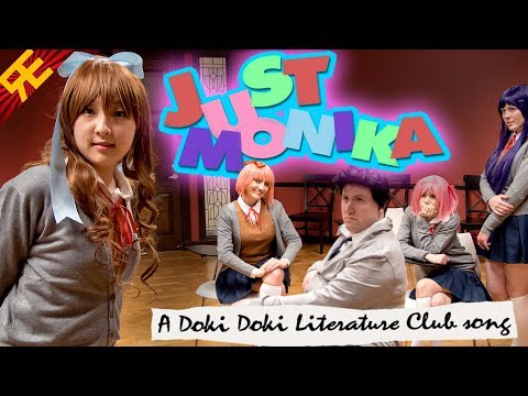 JUST MONIKA: A DDLC song (feat. OR3O & Adriana Figueroa) [by Random Encounters]