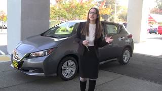 2019 Nissan Leaf S Model - Kayla Barry - Future Nissan of Folsom