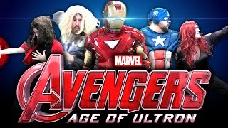 Avengers Age of Ultron | Trailer Parody
